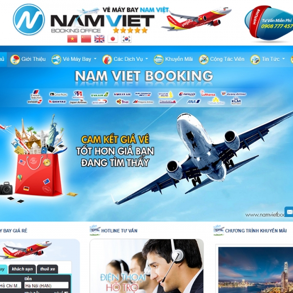 NAM VIỆT BOOKING